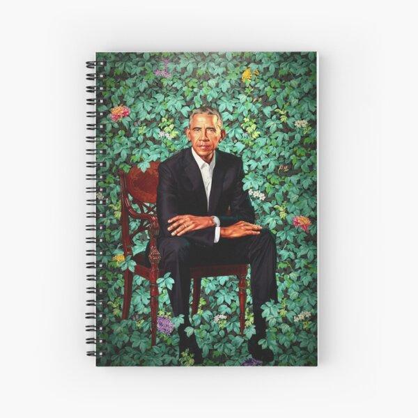 Unframed President Barack Obama Smithsonian's National Portrait Gallery Spiral Notebook