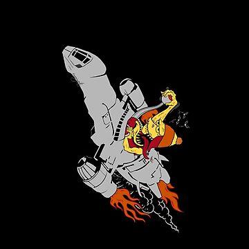 Fire Fink by emoryarts