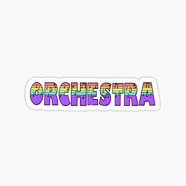 Orchestra Pastel Sticker