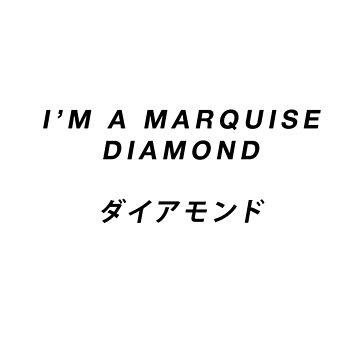 Marquise Diamond by olliemattie