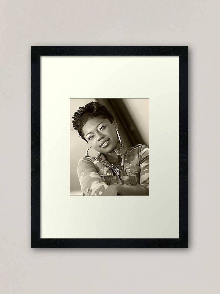 Alternate view of Watching You Framed Art Print
