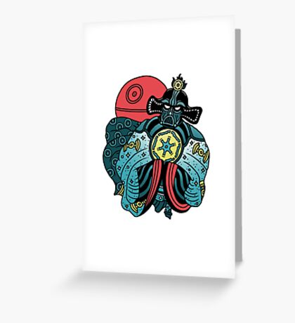 BIG TROUBLE IN LITTLE EMPIRE Greeting Card