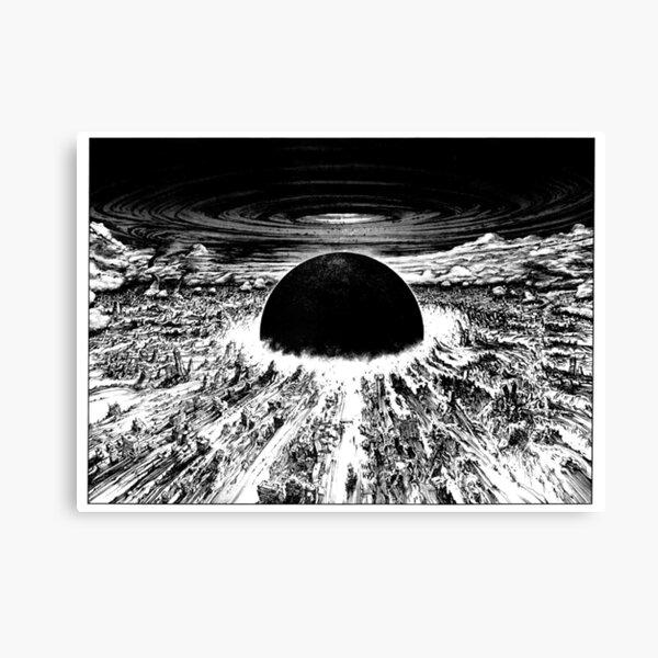 akira awakens explosion Canvas Print