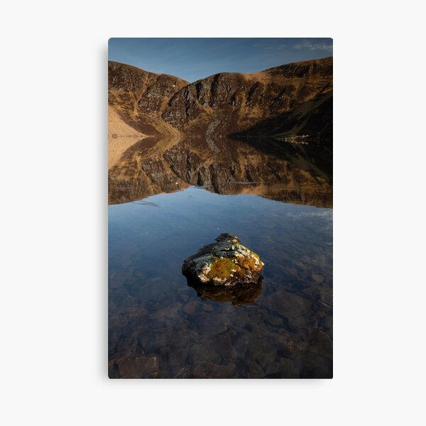 loch brandy reflections Canvas Print