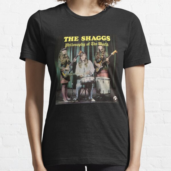 The Shaggs Band Shirt| Philosophy Of The World Concert Tee Essential T-Shirt
