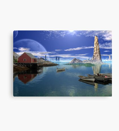 Tranquility Harbor Canvas Print