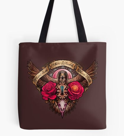 There Are Other Worlds Than These Tote Bag