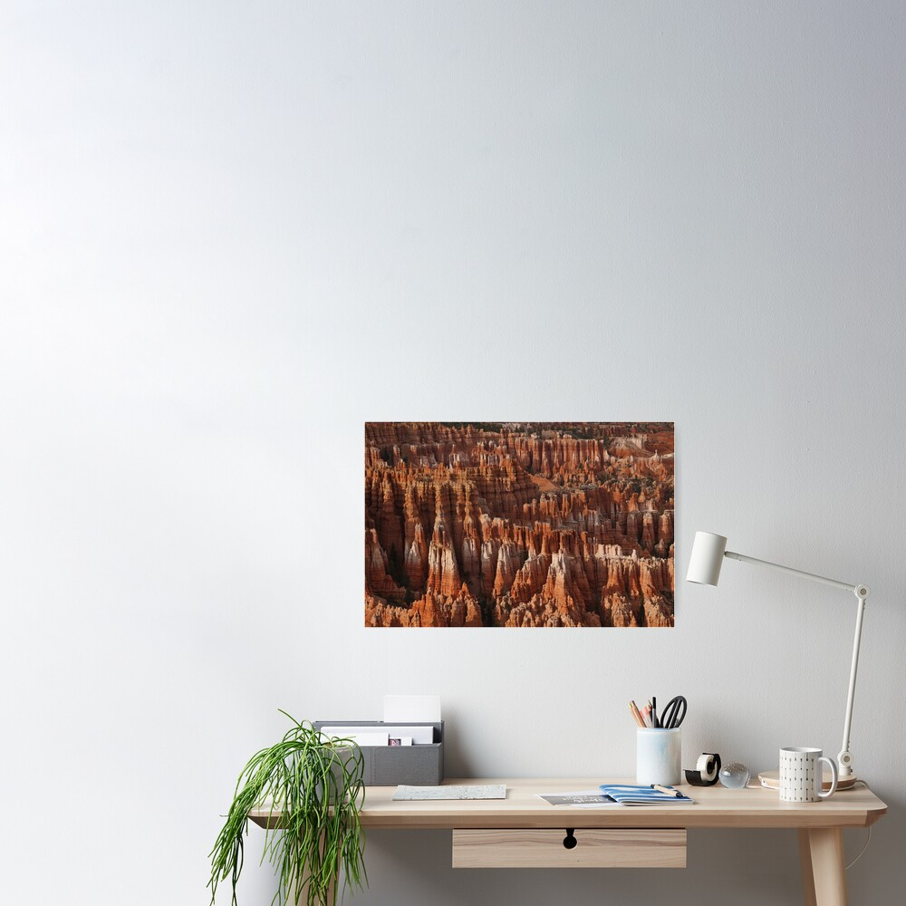 Bryce Canyon Castles Poster