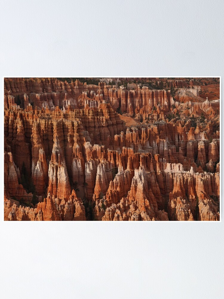 Alternate view of Bryce Canyon Castles Poster