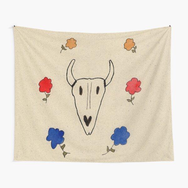 Skull Friend Tapestry