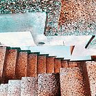 Abandoned stairs by David Kelly