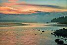 Pastel Skies by Suzanne Cummings