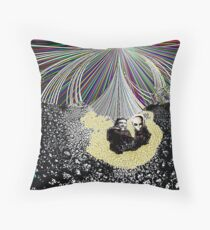 Tesla's Laboratory Throw Pillow