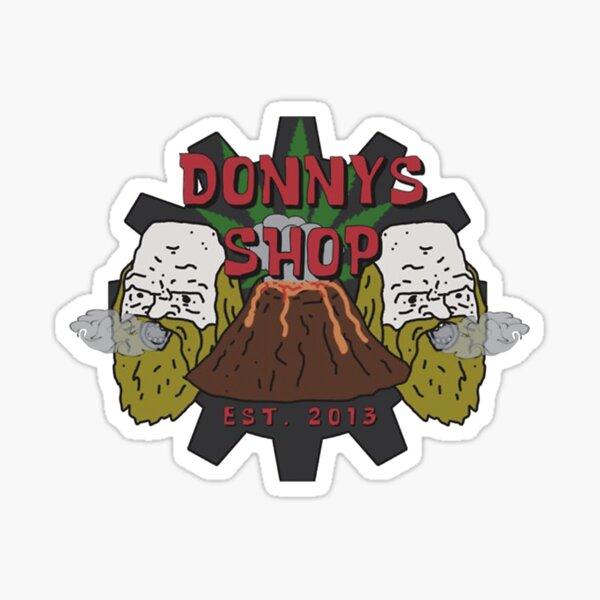 Donny's Shop Sticker