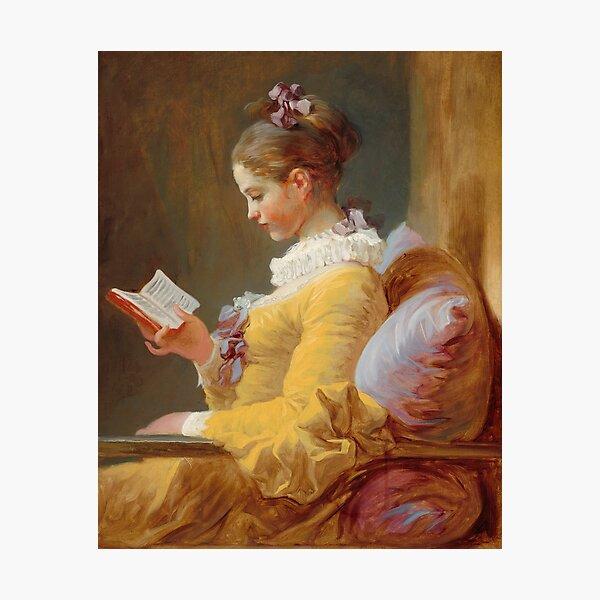 Jean-Honoré Fragonard A Young Girl Reading 1770 Photographic Print