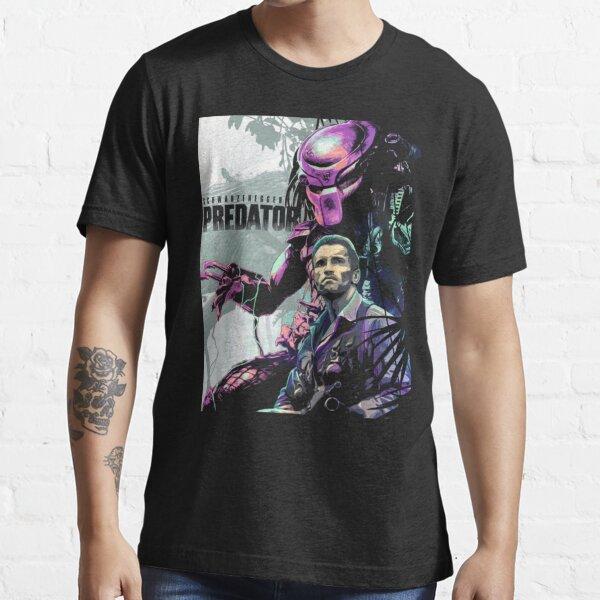 Predator et Schwarzenegger T-shirt essentiel
