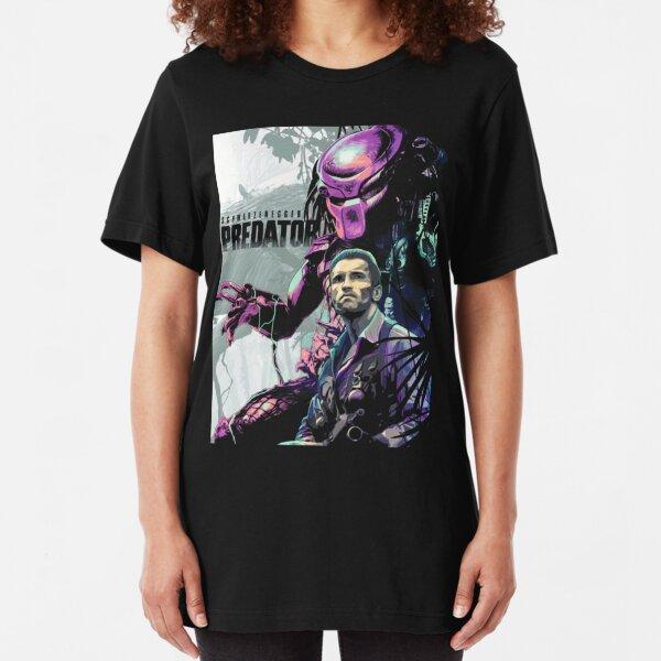 Tech Noir Terminator Predator Peli Película Horror Camiseta de comedia de acción
