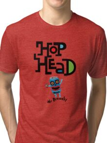 Hop Head (Mr Brewsky) - light Tri-blend T-Shirt