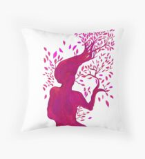Wind Dance Throw Pillow