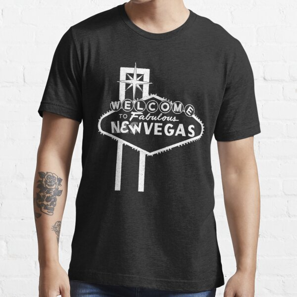 Welcome to New Vegas | Fallout New Vegas | White Logo Essential T-Shirt