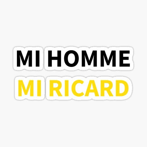 MI HOMME MI RICARD Sticker