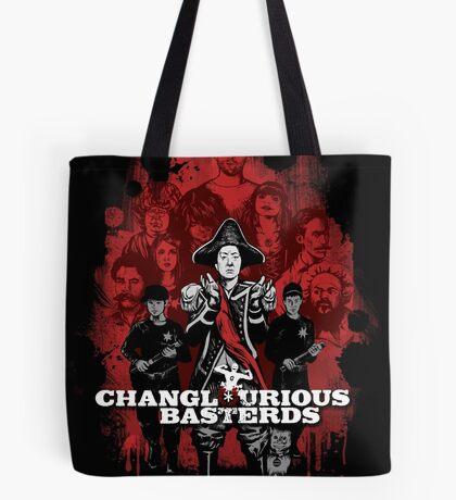 Changlourious Basterds (Any Shirt Colour) Tote Bag