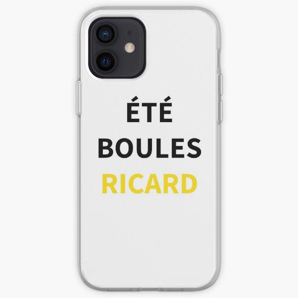 ÉTÉ BOULES RICARD Coque souple iPhone