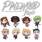 Pinewood Island by JaimeScribbles