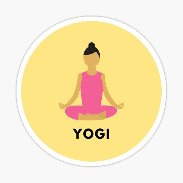 Yogi Badge Sticker