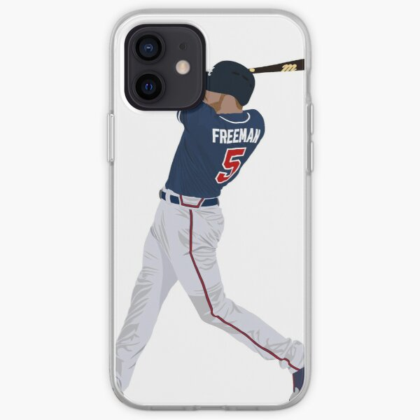 Freddie Freeman Funda blanda para iPhone