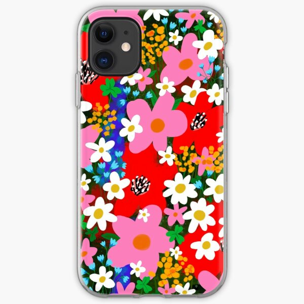 Flower Power! iPhone Soft Case