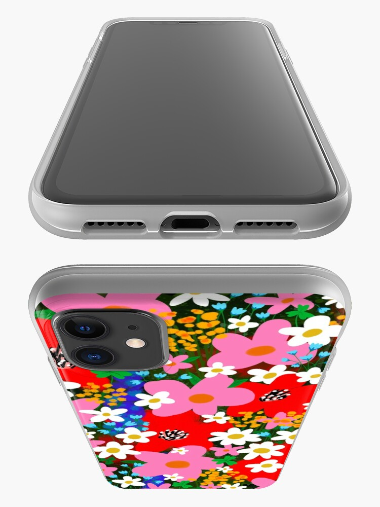 Alternate view of Flower Power! iPhone Case & Cover