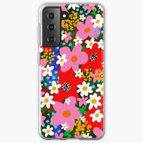 Flower Power! Samsung Galaxy Soft Case