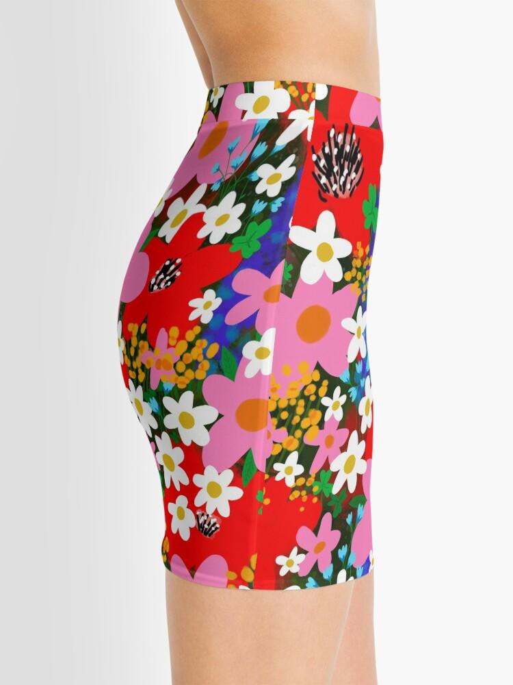 Alternate view of Flower Power! Mini Skirt