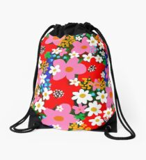 Flower Power! Drawstring Bag