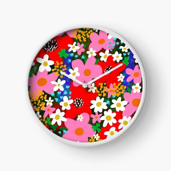 Flower Power! Clock