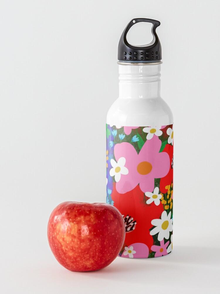 Alternate view of Flower Power! Water Bottle