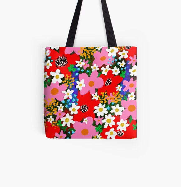 Flower Power! All Over Print Tote Bag