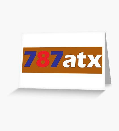 787atx Greeting Card