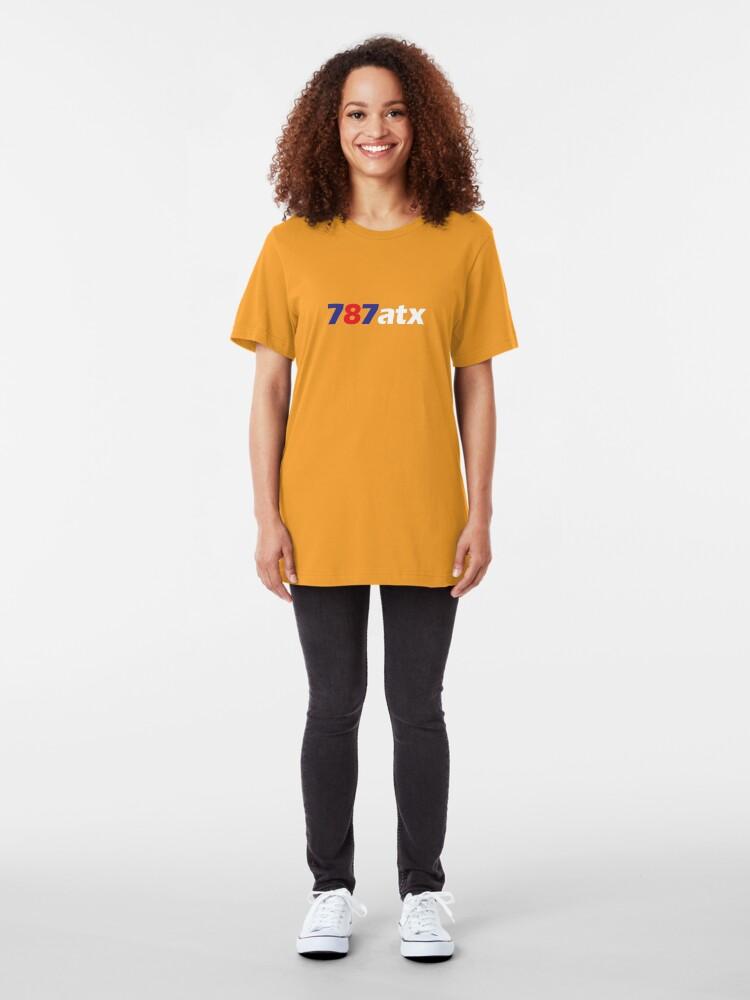 Alternate view of 787atx Slim Fit T-Shirt