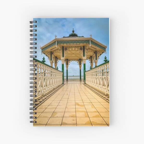 The Bandstand at Brighton Spiral Notebook