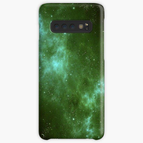 Deep Space Galaxy Green iPhone & Samsung Phone Case Samsung Galaxy Snap Case
