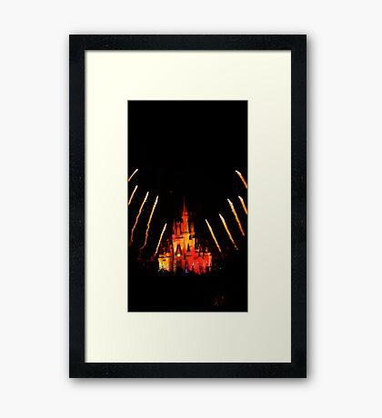 Magical Evening Framed Print