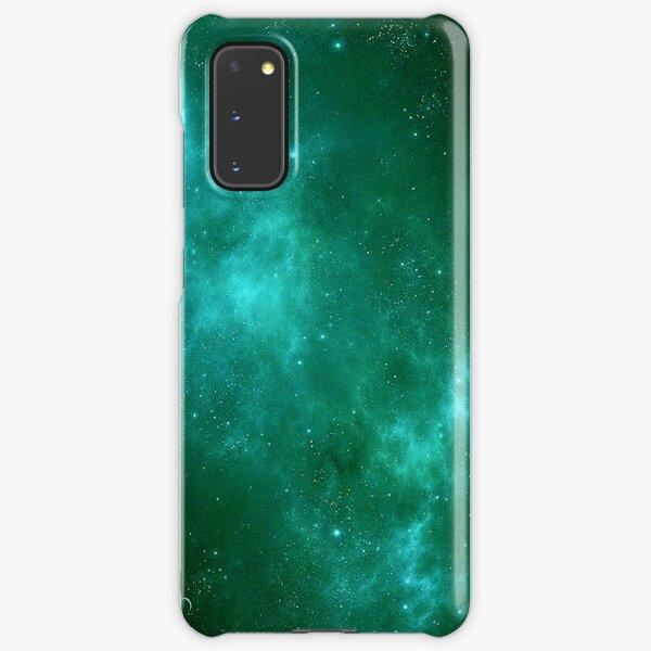 Deep Space Galaxy Cyan iPhone & Samsung Phone Case Samsung Galaxy Snap Case