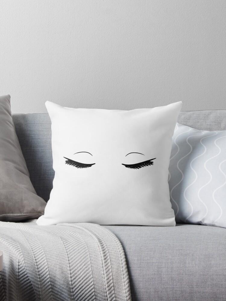 Cool Beauty Sleep Throw Pillow By Eliannadraws Forskolin Free Trial Chair Design Images Forskolin Free Trialorg
