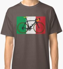 Bike Flag Italy (Big - Highlight) Classic T-Shirt