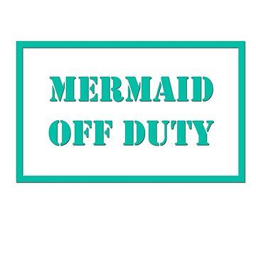 Mermaid Off Duty by sheelight