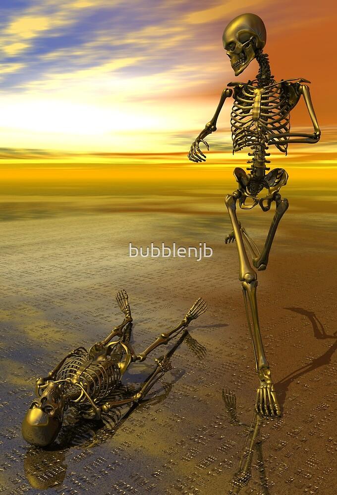 Running Skeleton by bubblenjb