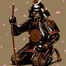 Clockwork Samurai-Cherry Blossoms by roguesapparel