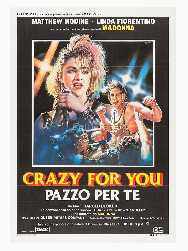Vision Quest Italian Poster by Cuttintees